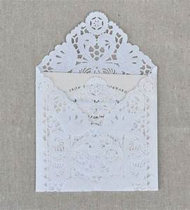 lace wedding lace wedding invitations how fitting With wedding invitations with lace doilies