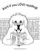 Bark Coloring Reading Designlooter Tails Newfoundland Sheet Dog sketch template