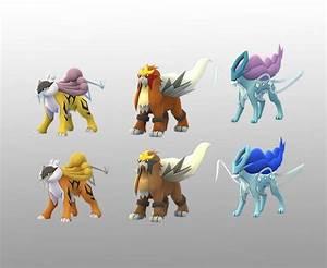Pokemon GO: Shiny Legendary Beasts Leaked Through In-Game ...