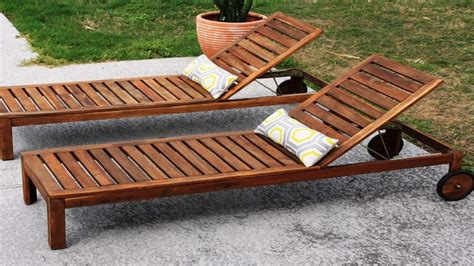 Wooden Outdoor Furniture by Wooden Lounge Furniture Related For Wooden Chaise Lounge