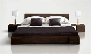 Modele De Chambre A Coucher Moderne : r sultat de recherche d 39 images pour mod le de lit en bois 3 places k en 2019 bed couple ~ Melissatoandfro.com Idées de Décoration