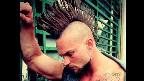 upscale mohawk hairstyles  men youtube