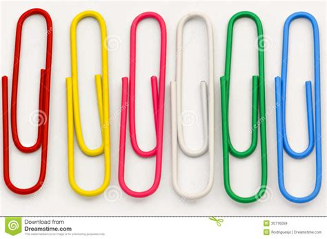 Clip Of Paper 01 Stock Image Image Of Design Graphic