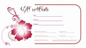 best photos of find gift certificates templates gift With fillable gift certificate template free
