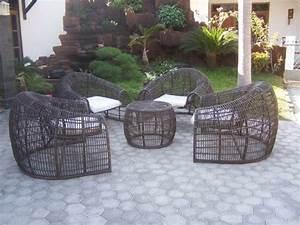 Fauteuil Exterieur Osier : fauteuil de jardin pour un am nagement r ussi ~ Premium-room.com Idées de Décoration