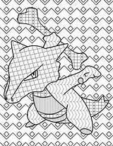 Coloring Pokemon Gotta Mandala Stakataka Colouring sketch template