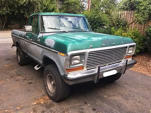 1979 Ford F150 Ranger 4x4 Shortbed For Sale In Seattle  Wa