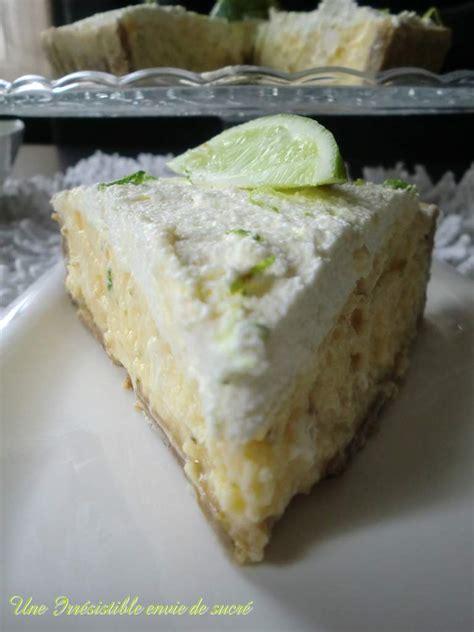 key lime pie tarte au citron vert une irr 233 sistible envie de sucr 233