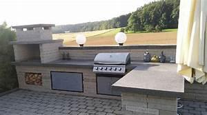 Outdoor Küche Gemauert : stilvolle outdoor k che im garten ein wahrer blickfang ~ Articles-book.com Haus und Dekorationen