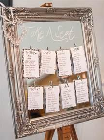 plan de table pour mariage 25 idées pour plan de table mariage original et chic