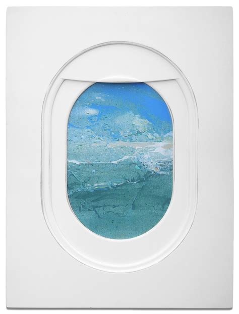 jim darlings airplane window seat paintings frame