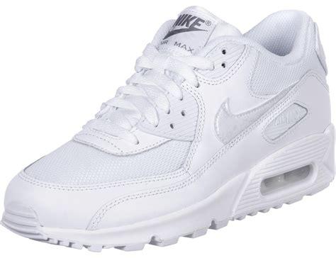 air max blanc nike air max 90 mesh gs chaussures blanc