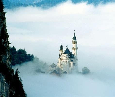 castle clouds germany mountain tower image