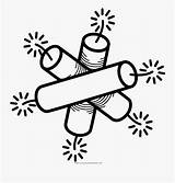 Dynamite Coloring Line Clipartkey sketch template