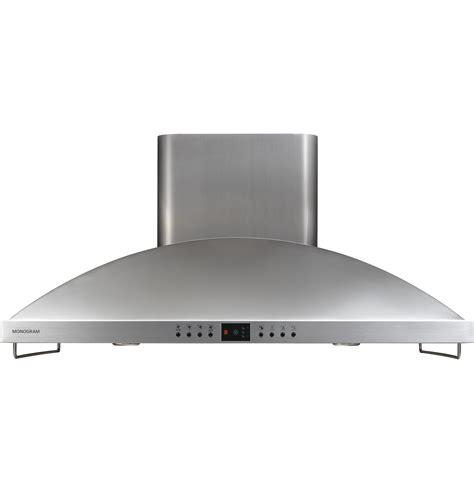 monogram  high performance island hood zvsfss ge appliances