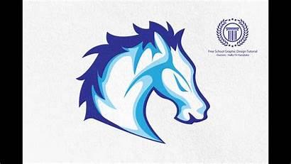 Horse Coreldraw Adobe Tutorial X7 Illustrator Photoshop
