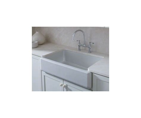 top mount self trimming apron front sink faucet k 6489 47 in almond by kohler