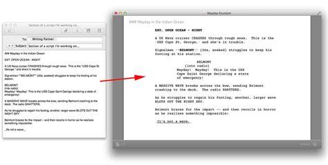 script writing software  mac