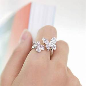 butterfly ring butterflies and butterfly wedding on pinterest With butterfly wedding ring