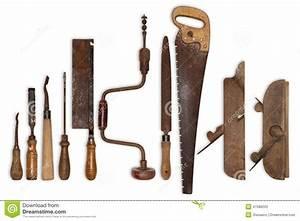 Outil Pour Fendre Le Bois : composition de vieux outils pour le bois photo stock ~ Dailycaller-alerts.com Idées de Décoration