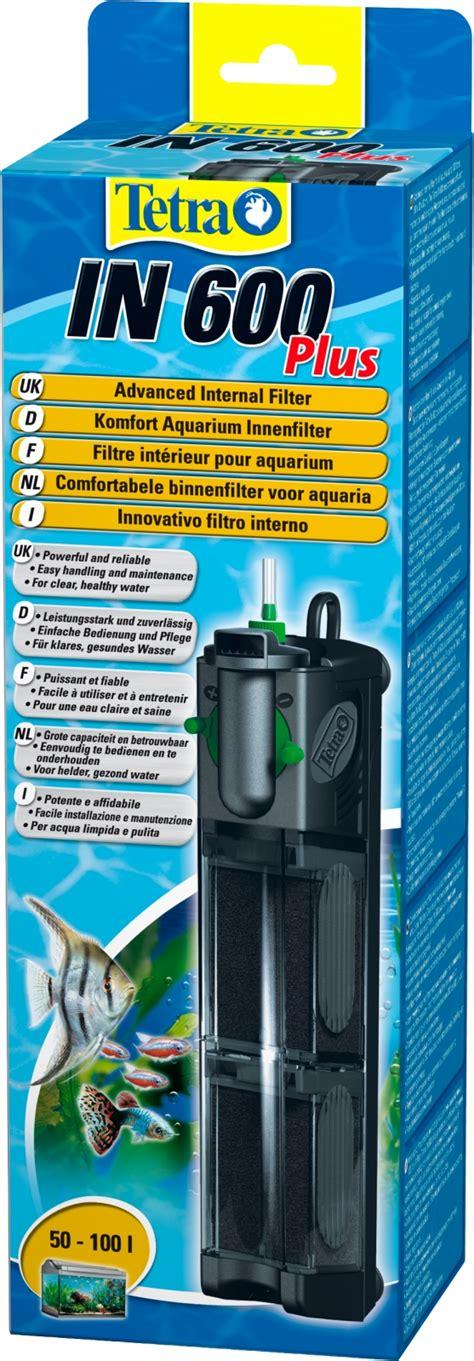 filtre pour aquarium 100l tetra in 600 plus filtre interne pour aquarium de 50 224 100l en vente sur la boutique en ligne