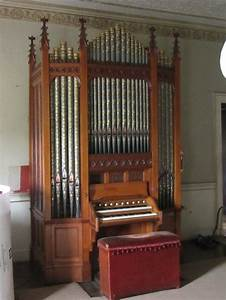 Erddig House Near Wrexham Wales  Restoration Of The Bevington Organ For The National Trust