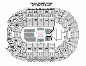 Dunkin Center Seating Chart Seating Chart Dunkin Donuts Center