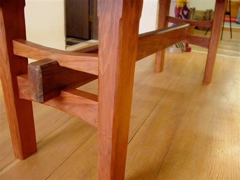 redwood table  japanese joinery products  love