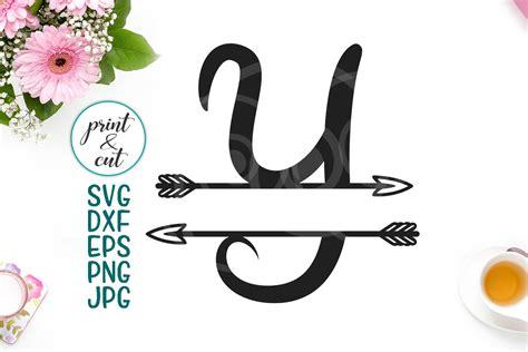 divided tribal monogram letter  split font  arrows svg  svgs design bundles