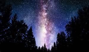 Milky Way Night Sky Stars HD