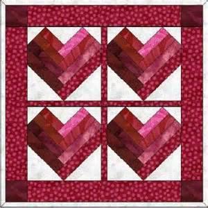 Free Paper Pieced Heart Quilt Block Patterns