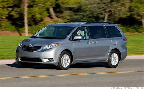 minivans toyota sienna  reliable cars consumer