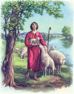 Bible Story David as Shepherd
