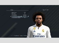PES 2013 Marcelo Real Madrid Face By Blue FM PES Patch