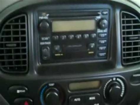 how cars engines work 2002 toyota sequoia navigation system 2002 toyota sequoia dvd navi stereo install youtube