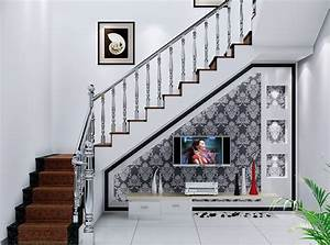 Creative ideas to use spaces under stairs