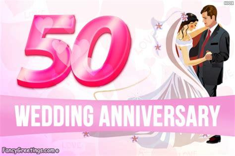 wedding anniversary happy golden jubilee celebration