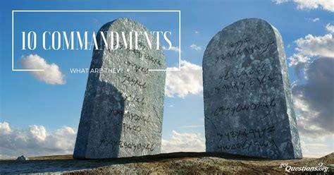 ten commandments    decalogue