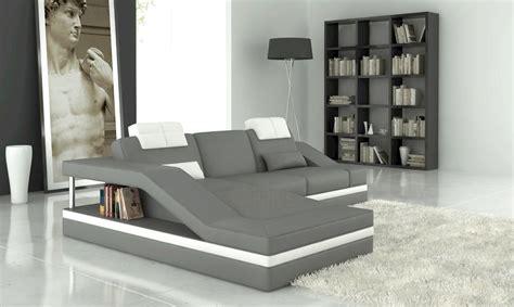 canap d angle gris et blanc canapé d 39 angle gris et blanc mundu fr