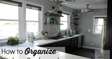 What Are Kitchen Cupboards Made Of by How To Organize Kitchen Cupboards Organizing Made