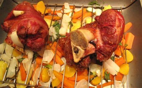 comment cuisiner un jarret de porc recette jarret de porc aux petits légumes 750g