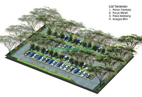 desain landscape pabrik mobil cikarang taman vertikal