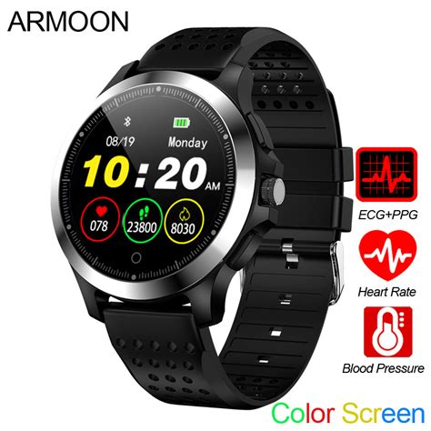 Smart Watch W8 ECG PPG Heart Rate Bracelet Sleep Monitor