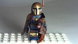 Custom Lego Star Wars Mandalorian Bounty Hunter - YouTube