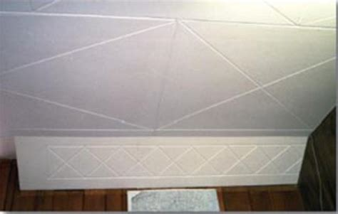 fiberboard ceilingwall panel repair paint