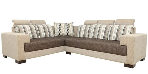 best fabric for sofa in india buy pacific corner sectional sofa in designer fabric