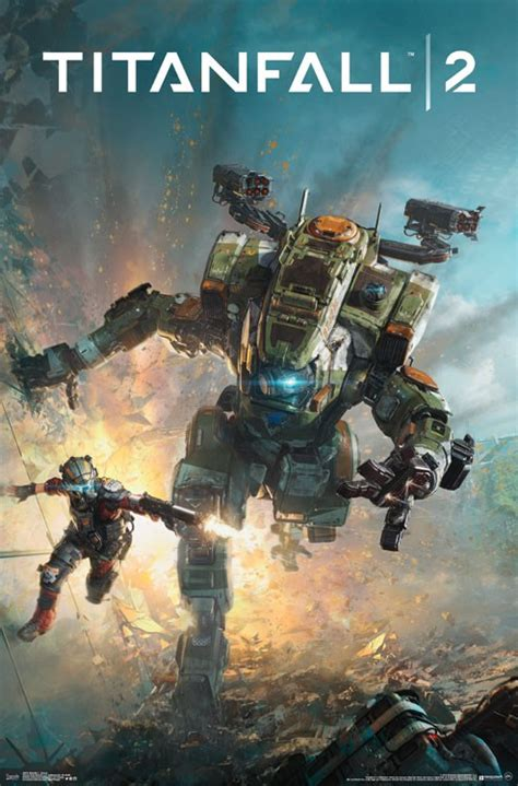 Lift your spirits with funny jokes, trending memes, entertaining gifs, inspiring stories, viral videos, and so much. Titanfall 2 Key Art 23 x 34 inch Game Poster | FilmFetish.com | Film Fetish and the Crush ...