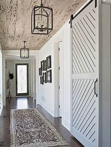 stunning hallway ideas to steal for your own home barn With barn door for hallway
