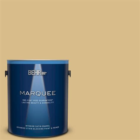 behr marquee 1 gal mq2 18 honey tea one coat hide satin