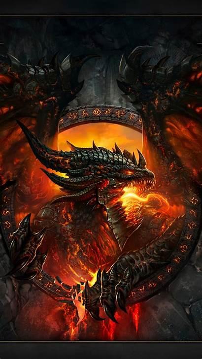 Dragon 4k Desktop Fire Warcraft Face Wings